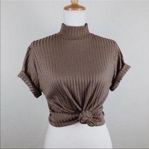 Tops - Vintage mock neck